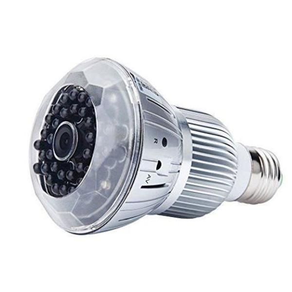 Full HD 1080P Hidden spy Camera WIFI IP Light Bulb Camera Motion Detection CCTV Camera
