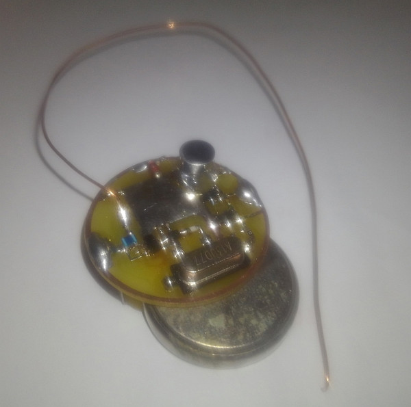 Audio Spy Bug with Battery