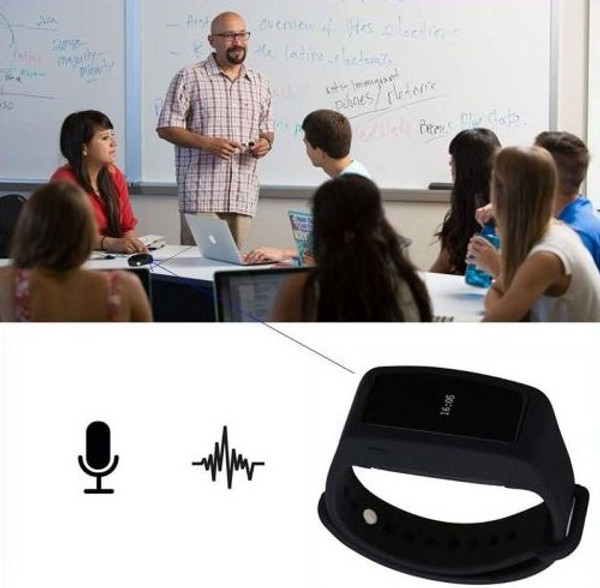 Bracelet Dictaphone for Lecture Meeting