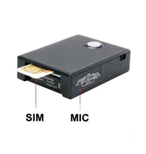 Two-way GSM audio spy device