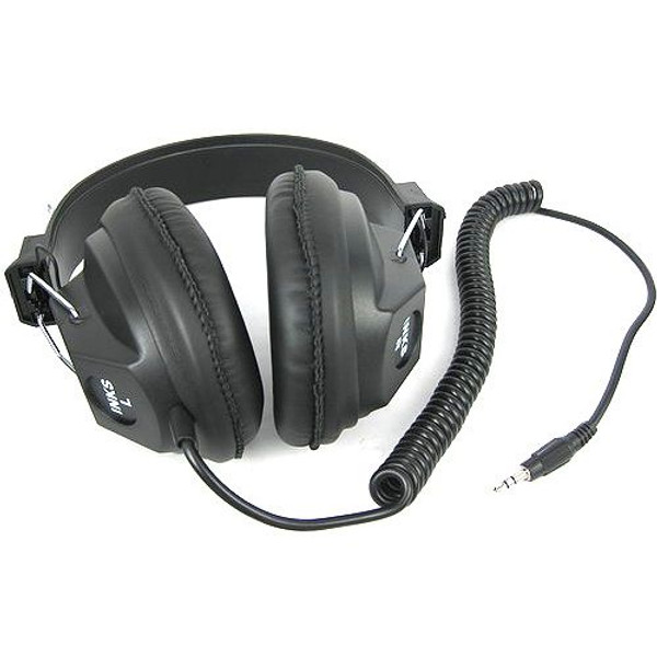 headset for parabolic microphone