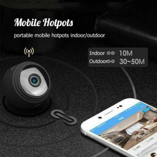mini HD security camera Wifi capable