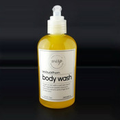 Seabuckthorn-body-wash detergent free, SLS free, aids in alleviating skin irritation while gently cleansing