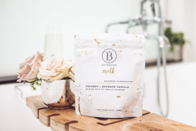 Bathorium Milk Coconut+Vanilla Mineral Bath Soak