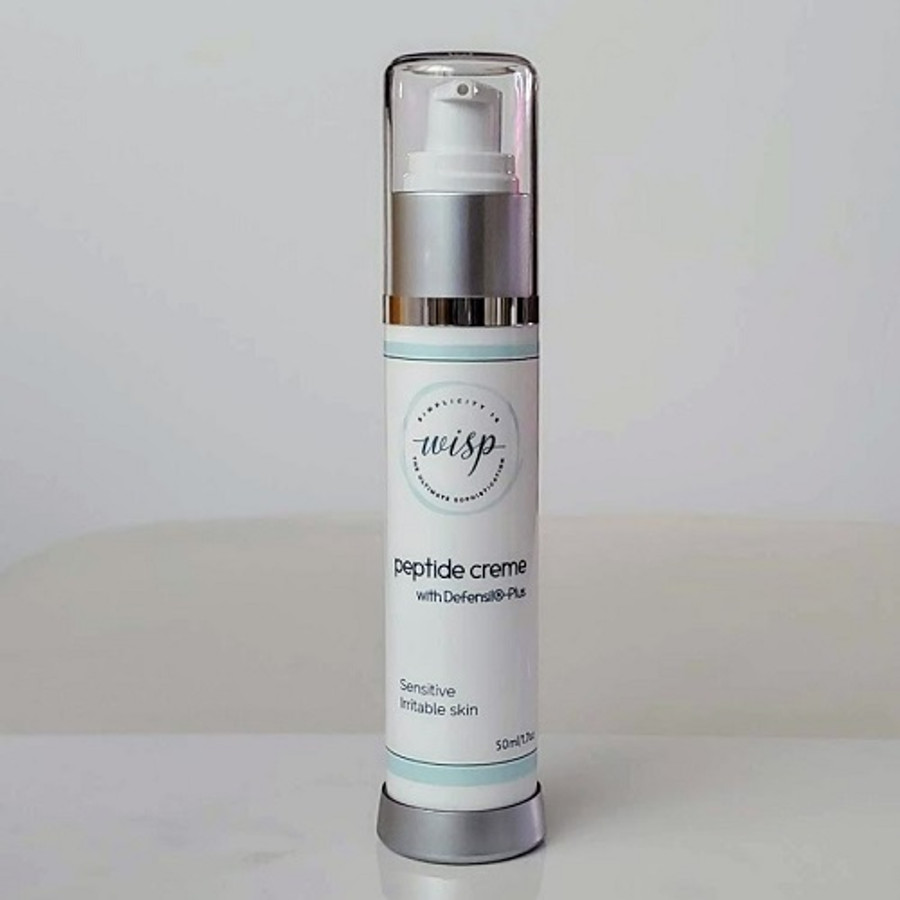 peptide creme with Definsil®Plus- a soothing, calming creme for Sensitized, Reactive skin.