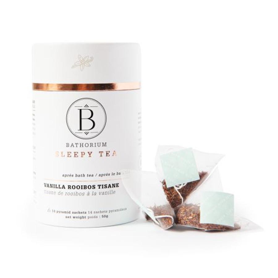 Bathorium Sleepy Tea Vanilla, Rooibos, Calendula petals, cacoa