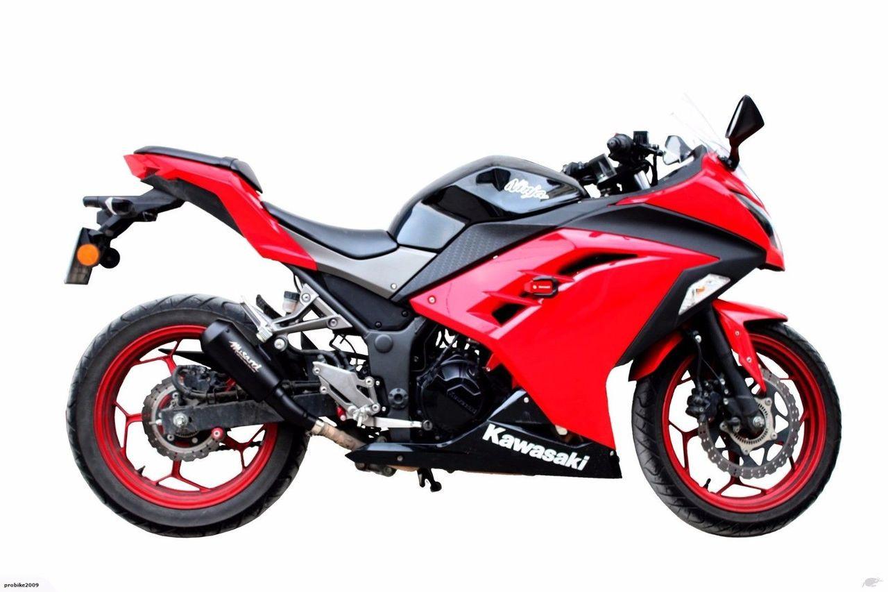 Kawasaki Ninja 300 2013-2017 - Musarri GP Street Series Slip-on Exhaust