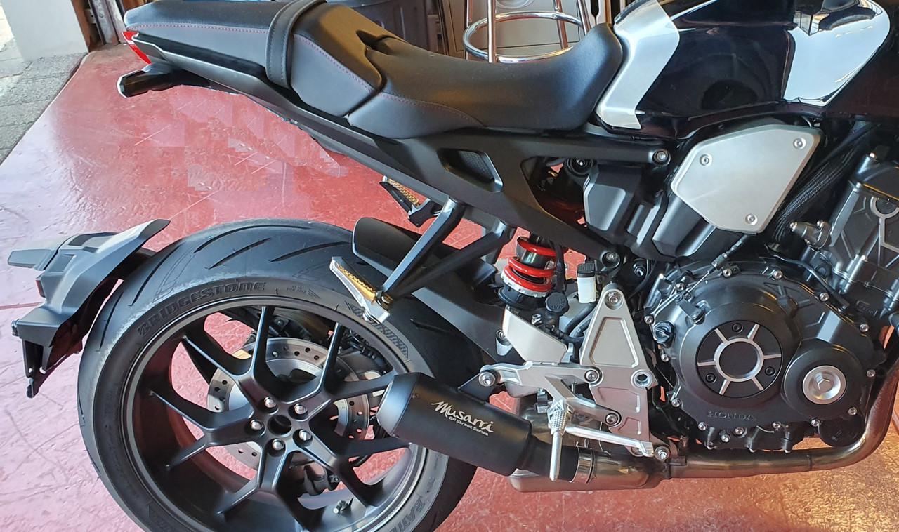 Honda CB1000R Neo 2018-2021  - Musarri Street Series GP Slip-on Exhaust