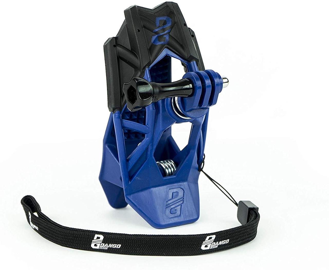 DANGO GRIPPER MOUNT suits all Go Pro Cameras - Blue