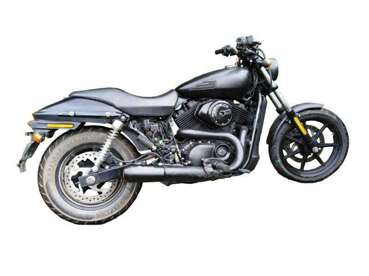 Harley Davidson Street 750 XG750 - Musarri Street Series GP Slip-on Exhaust