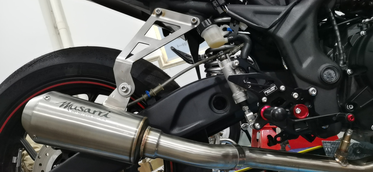 YZF R3 / MT03 2015-2021 Musarri S/S Full System Race GP Exhaust - Stainless