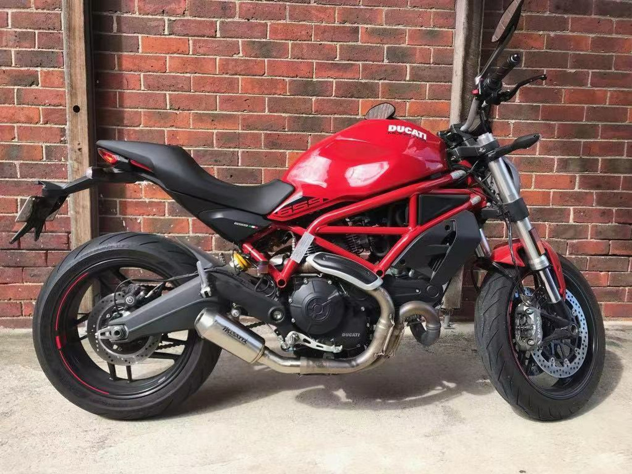 Ducati 659 Monster Musarri GP Street SS