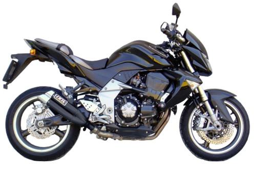 Kawasaki Z-1000 2003-2006 IXIL L3X DUAL HYPERLOW XL BLACK (DUAL SLIP ON EXHAUST)