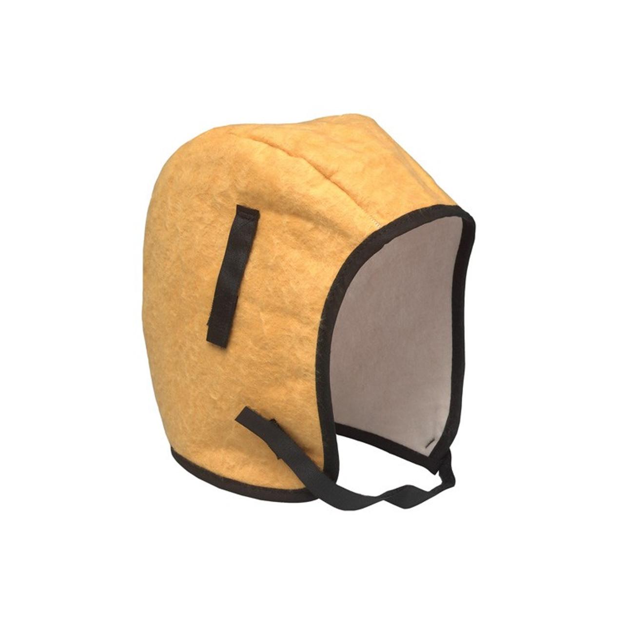 ERB 19540 Winter Hard Hat liner Cotton Twill Shell Fleece Liner Chin Strap