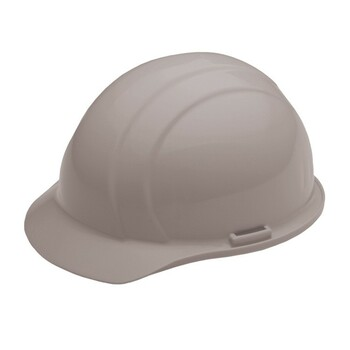 19767 ERB Americana Standard Gray hard hats