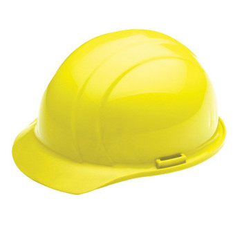 19774 ERB Americana Standard Hi Viz Yellow hard hats
