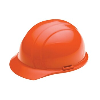 19365 ERB Americana Mega Ratchet Hi Viz Orange hard hats