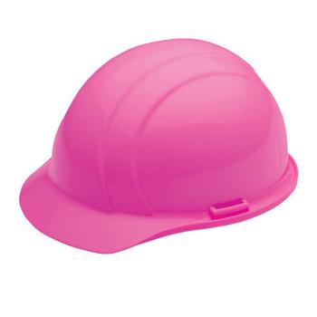 19369 ERB Americana Mega Ratchet Hi Viz Pink hard hats