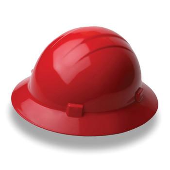 19204 ERB Americana Full Brim Standard Red hard hats