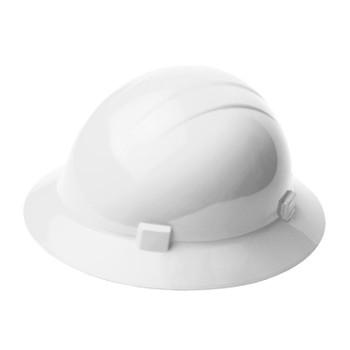 19221 ERB Americana Full Brim Mega Ratchet White hard hats