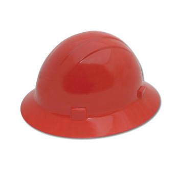 19224 ERB Americana Full Brim Mega Ratchet Red hard hats