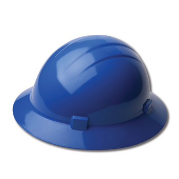 19226 ERB Americana Full Brim Mega Ratchet Blue hard hats