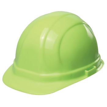 19990 ERB Omega II Mega Ratchet Hi Viz Lime Head Protection
