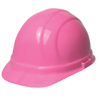 19989 ERB Omega II Mega Ratchet Hi Viz Pink Head Protection
