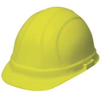 19948 ERB Omega II Mega Ratchet Hi Viz Yellow Head Protection
