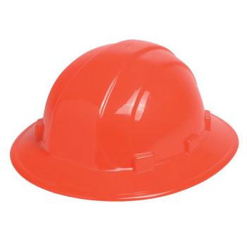 19500 ERB Omega II Full Brim Standard Hi Viz Orange Head Protection