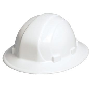 19501 ERB Omega II Full Brim Standard White Head Protection
