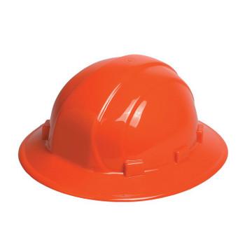 19913 ERB Omega II Full Brim Mega Ratchet Orange Head Protection