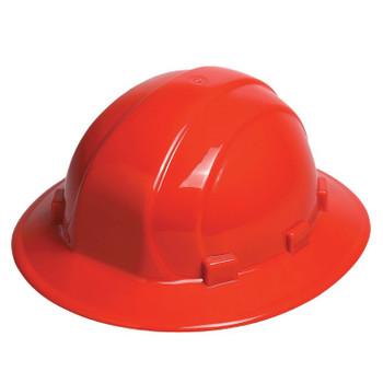 19914 ERB Omega II Full Brim Mega Ratchet Red Head Protection