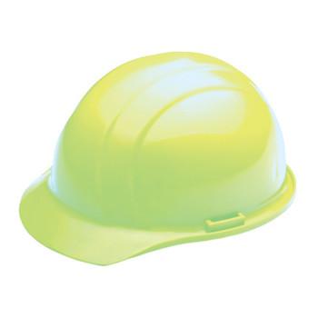 19320 ERB Liberty Mega Ratchet Hi Viz Lime Head Protection