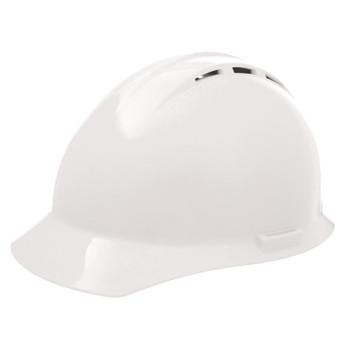 19251 ERB Americana Vent Standard White hard hats