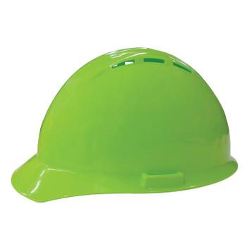 19450 ERB Americana Vent Mega Ratchet Hi Viz Lime hard hats