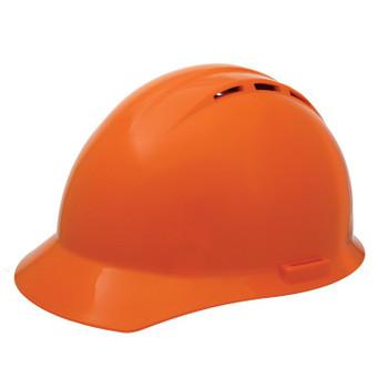 19455 ERB Americana Vent Mega Ratchet Hi Viz Orange hard hats