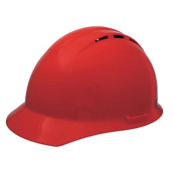 19454 ERB Americana Vent Mega Ratchet Red hard hats