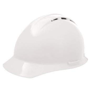 19451 ERB Americana Vent Mega Ratchet White hard hats