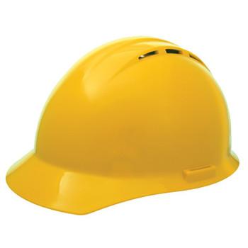 19452 ERB Americana Vent Mega Ratchet Yellow hard hats
