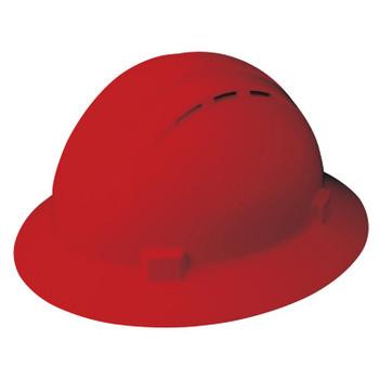 19334 ERB Americana Full Brim Vent Standard Red hard hats