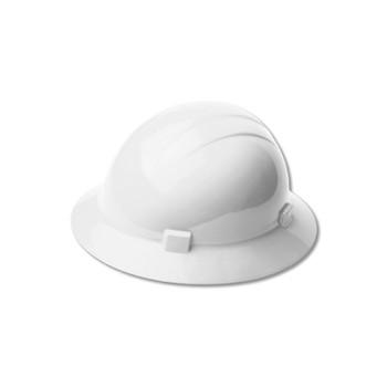 19341 ERB Americana Heat Standard White hard hats