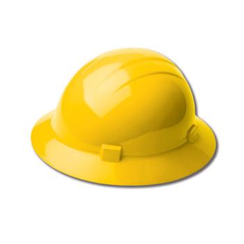 19742 ERB Americana Heat Mega Ratchet Yellow hard hats