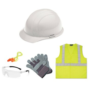 16531 ERB New Hire Kit Clear lens, S362 L Safety Construction Accessories