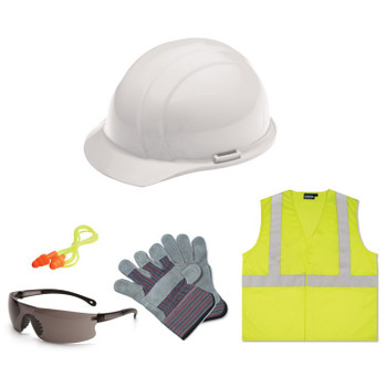 16539 ERB New Hire Kit Smoke lens, S362 XL Safety Construction Accessories