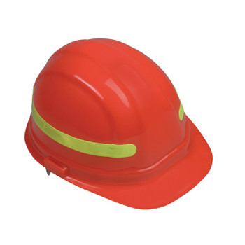 15966 ERB ANSI Reflective Strip Lime Safety Accessories - Head Accessories