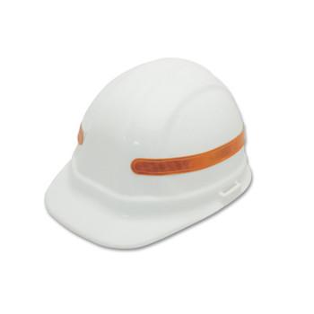 15967 ERB ANSI Reflective Strip Orange Safety Accessories - Head Accessories