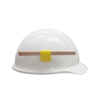15685 ERB Hard Hat Pencil Clip Yellow Safety Accessories - Head Accessories
