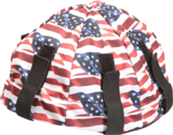 19705 ERB Lester Lid American Flag Safety Accessories - Head Accessories