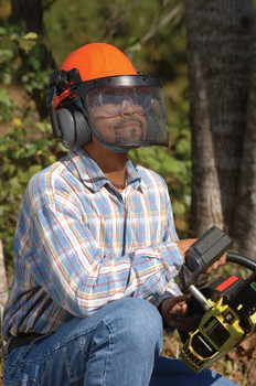 14371 ERB Chain Saw Safety Kit Head Protection
